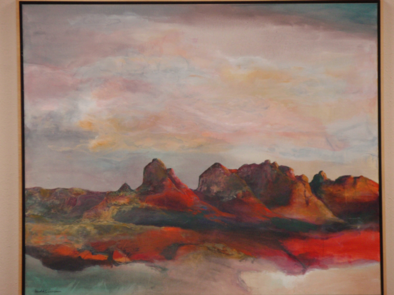 Hal Larson View of Sedona