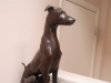 Doberman Sculpture
